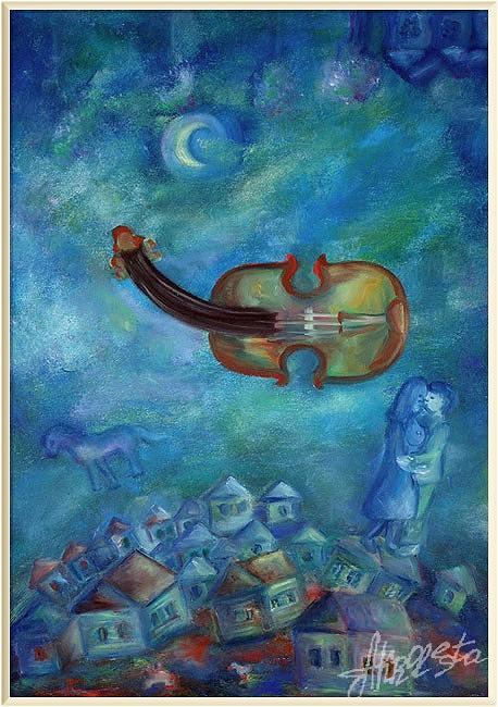 Скрипка Марка Шагала