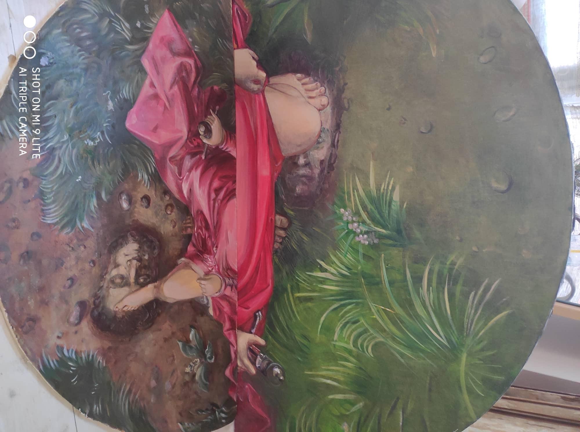 Два варианта картины «Юдифь»