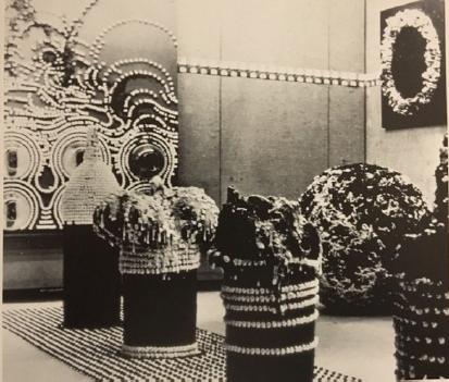 «Парящее движение и его уплотнение в сознании». 1958 год. Courtesy:Aomori Museum of Art,