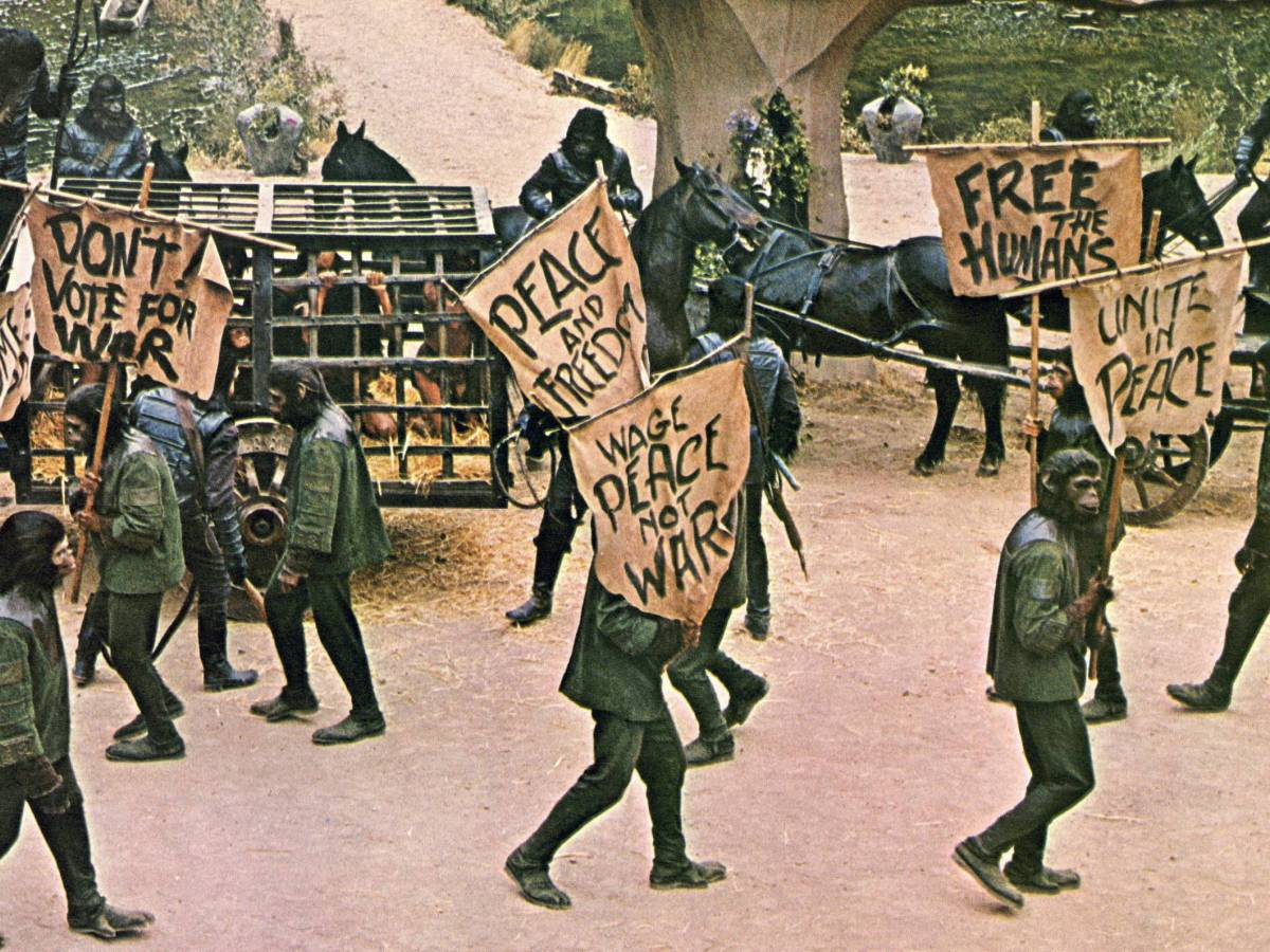 Beneath the Planet of the Apes, 1970