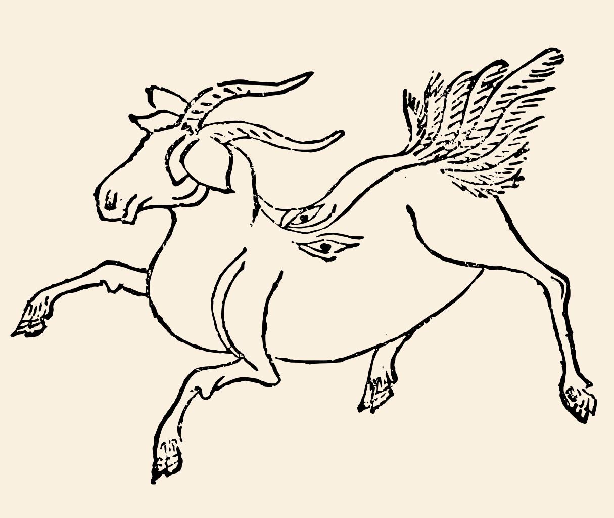 Бочи - существо из китайской мифологии