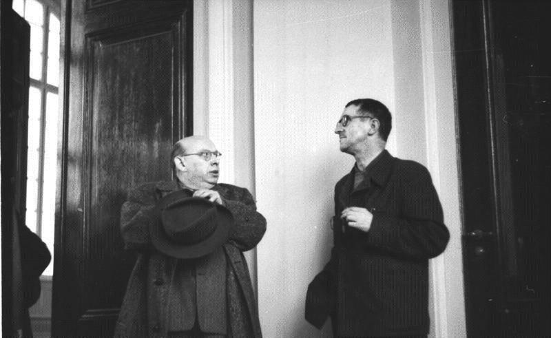 Эйслер и Брехт