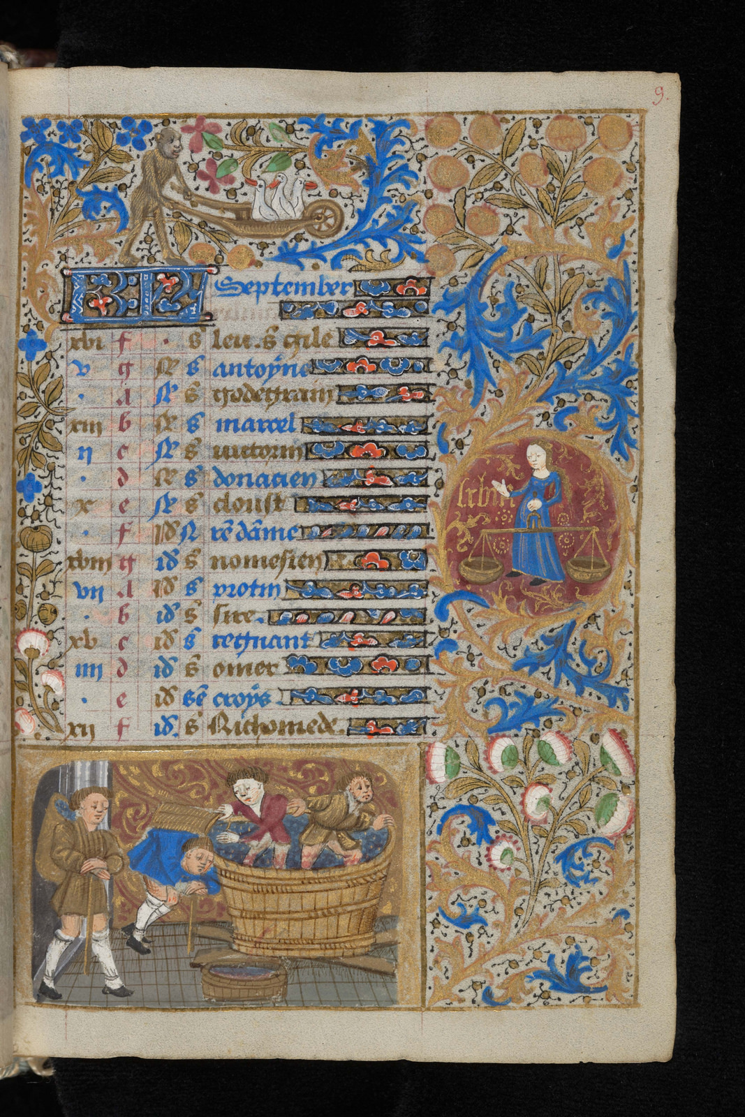 Book of hours, third quarter of the 15th century.