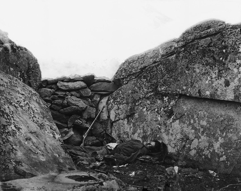 Гарднер А. и О'Салливан Т. Убежище мятежного сапера, 1863