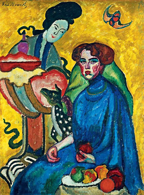 И.И. Машков. П-т Е.И. Киркальди. 1910. Холст, масло. 166 x 124,5. ГТГ.