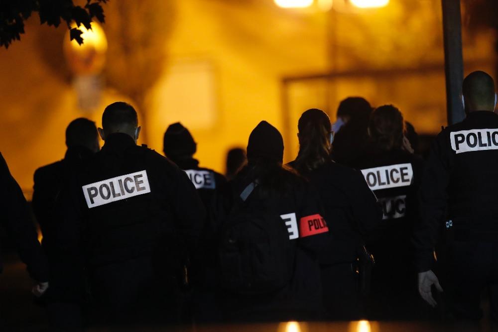 Фотография французской полиции. Фото взято из интернета.