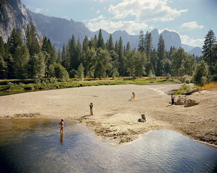 Merced River, Yosemite National Park, California, August 13, 1979
