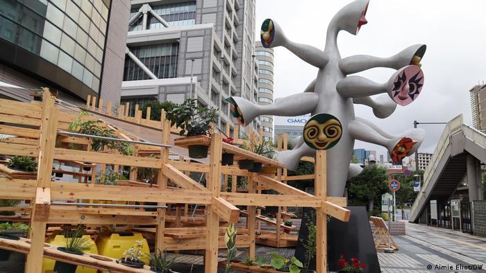 Самый интерактивный временный павильон Токийской олимпиады