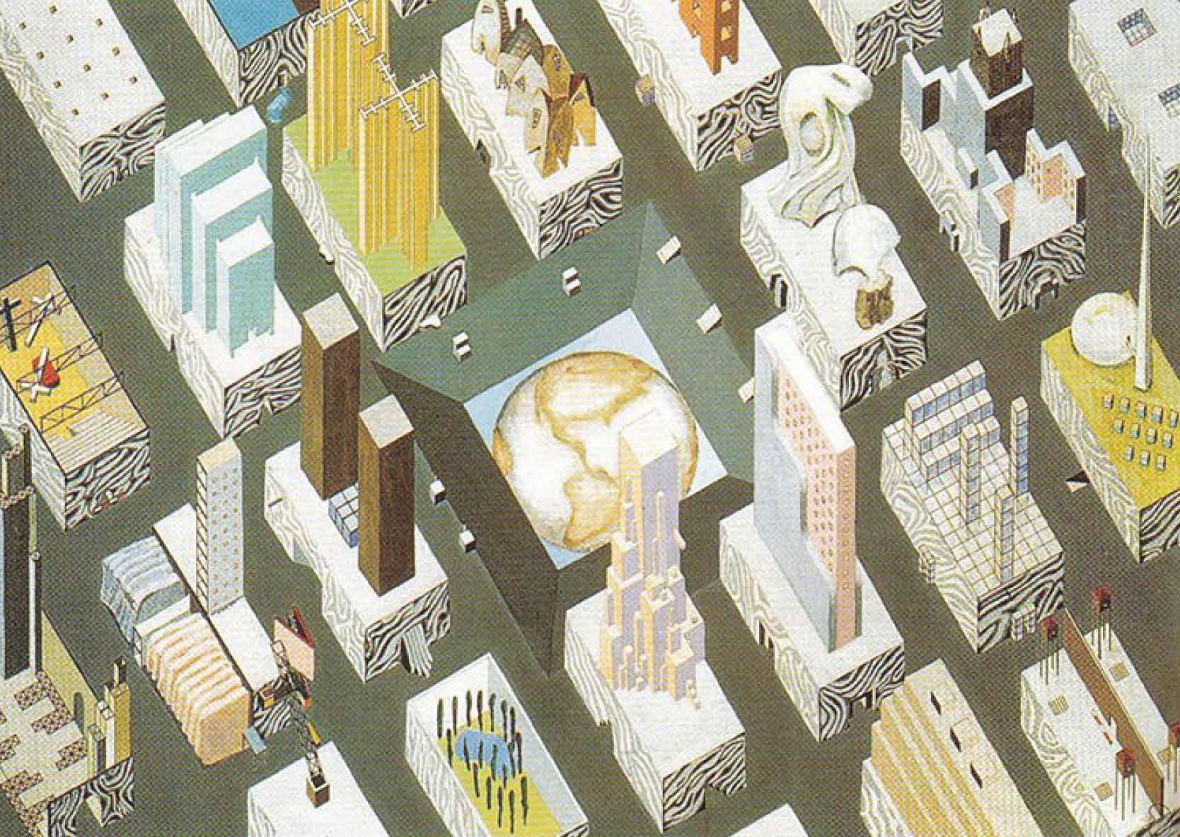 Рем Колхас. Город пленённого земного шара. 1972