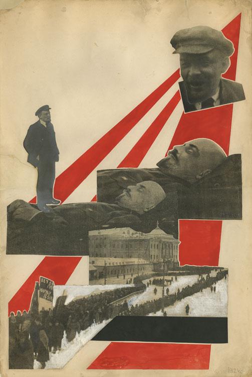 А. Родченко «Похороны В.И. Ленина», 1924 г.