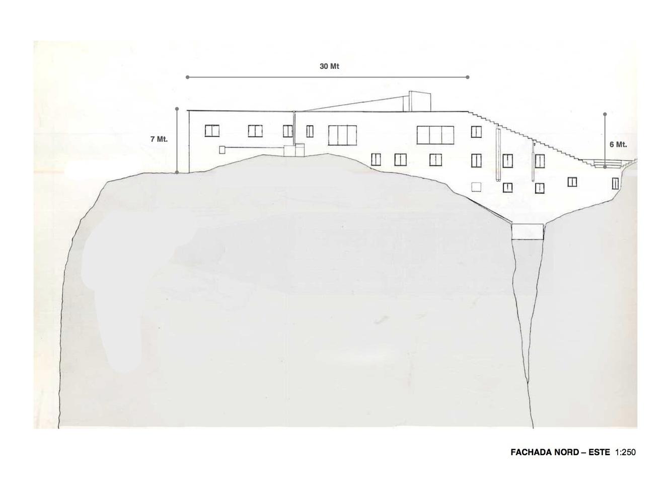 Северо-восточный фасад
