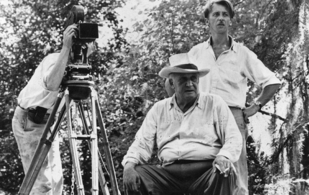 Роберт Флаэрти снимает фильм «Луизианская история», ок. 1948 © Hulton Archive / Getty Images