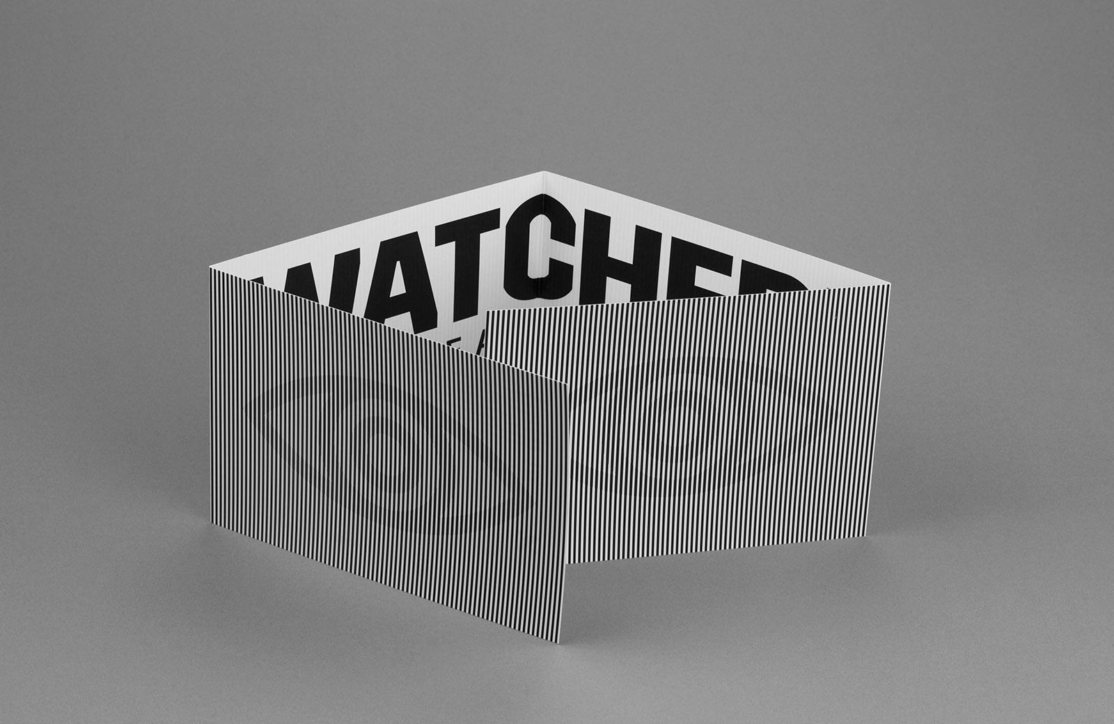 Печатные материалы к выставке Watched! Surveillance Art and Photography,Гётеборгский художественный музей, Швеция