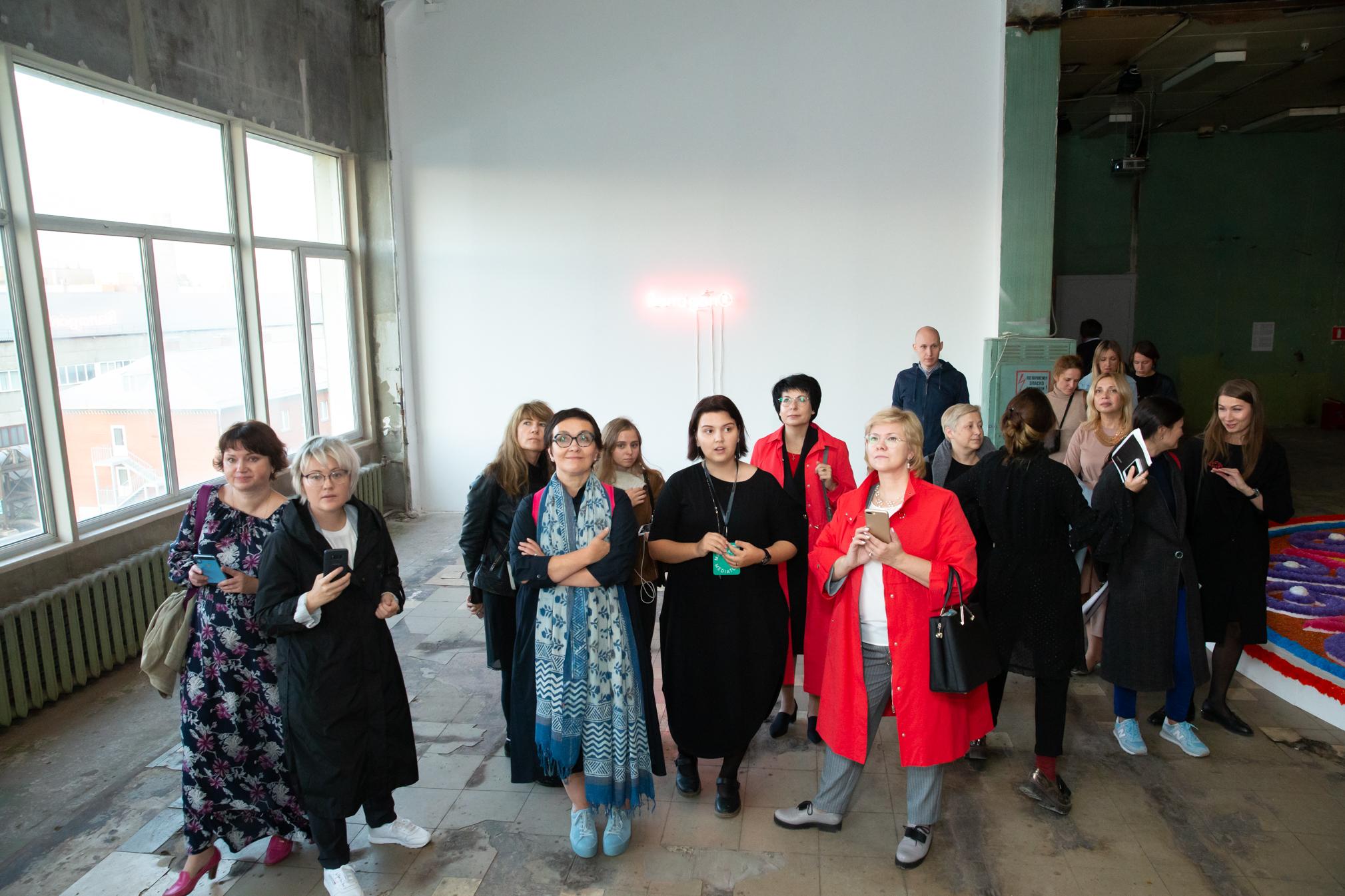 Медиация на 5-й Уральской индустриальной биеннале, 2019 год.© Zoom Zoom Family