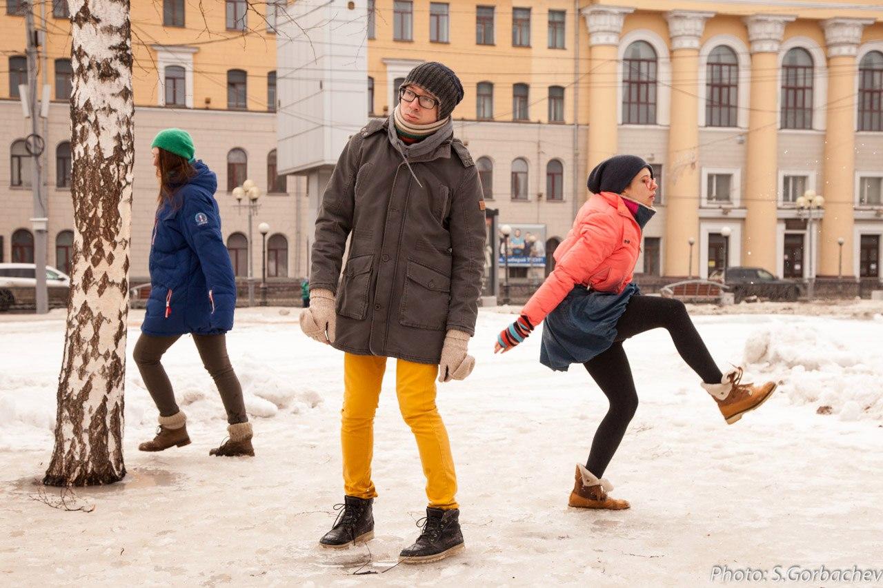 Три П. Перформанс «Тело в парке» . 2016. Фото Сергей Горбачев