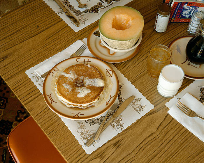 Breakfast, Trail's End Restaurant, Kanab, Utah, August 10, 1973, 1973 © Stephen Shore