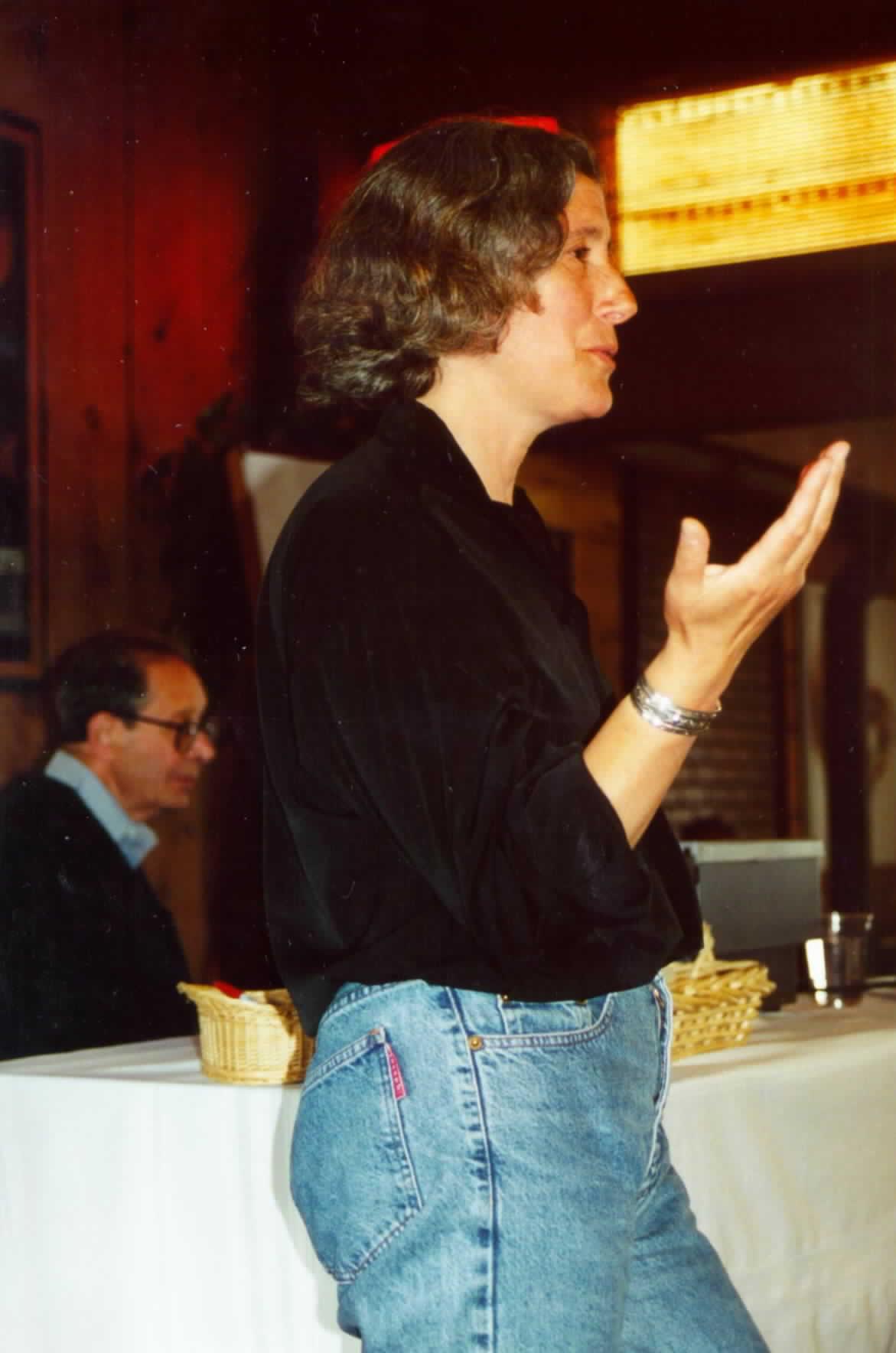 Люси Сачмен наWPT Fest (1999)