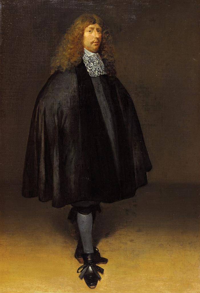 Терборх, Герард Автопортрет (около 1668). Холст, масло. 62,7×43, 7 см.Маурицхейс, Гаага