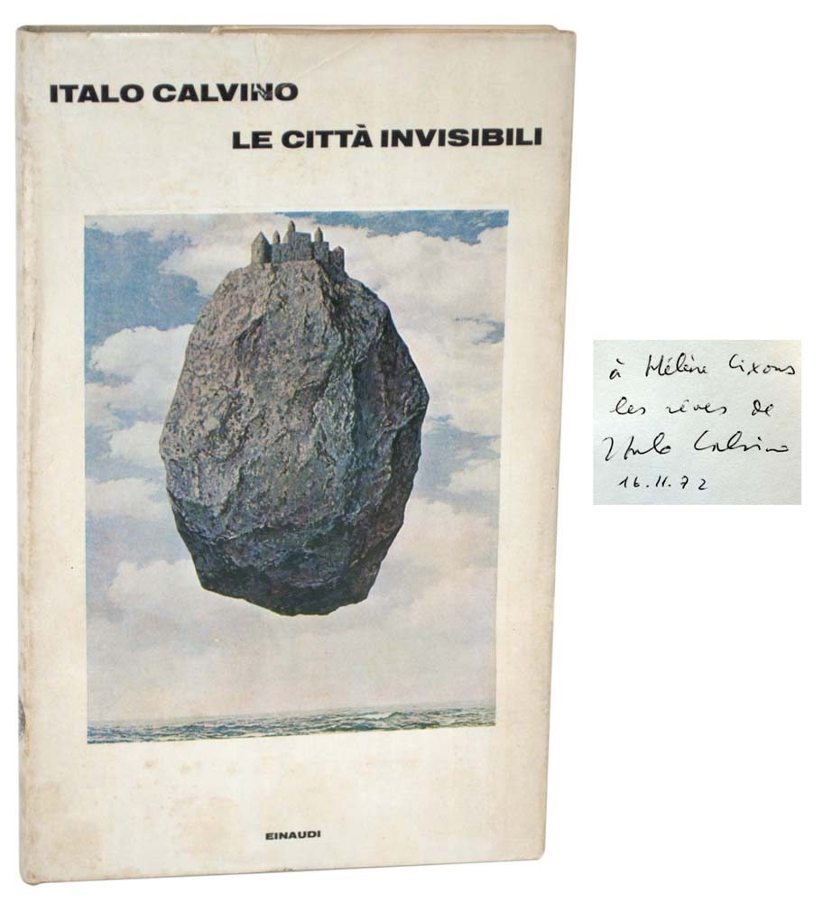 Первое итальянское издание с автографом автора философуЭлен Сиксу (Raptis Rare Books)