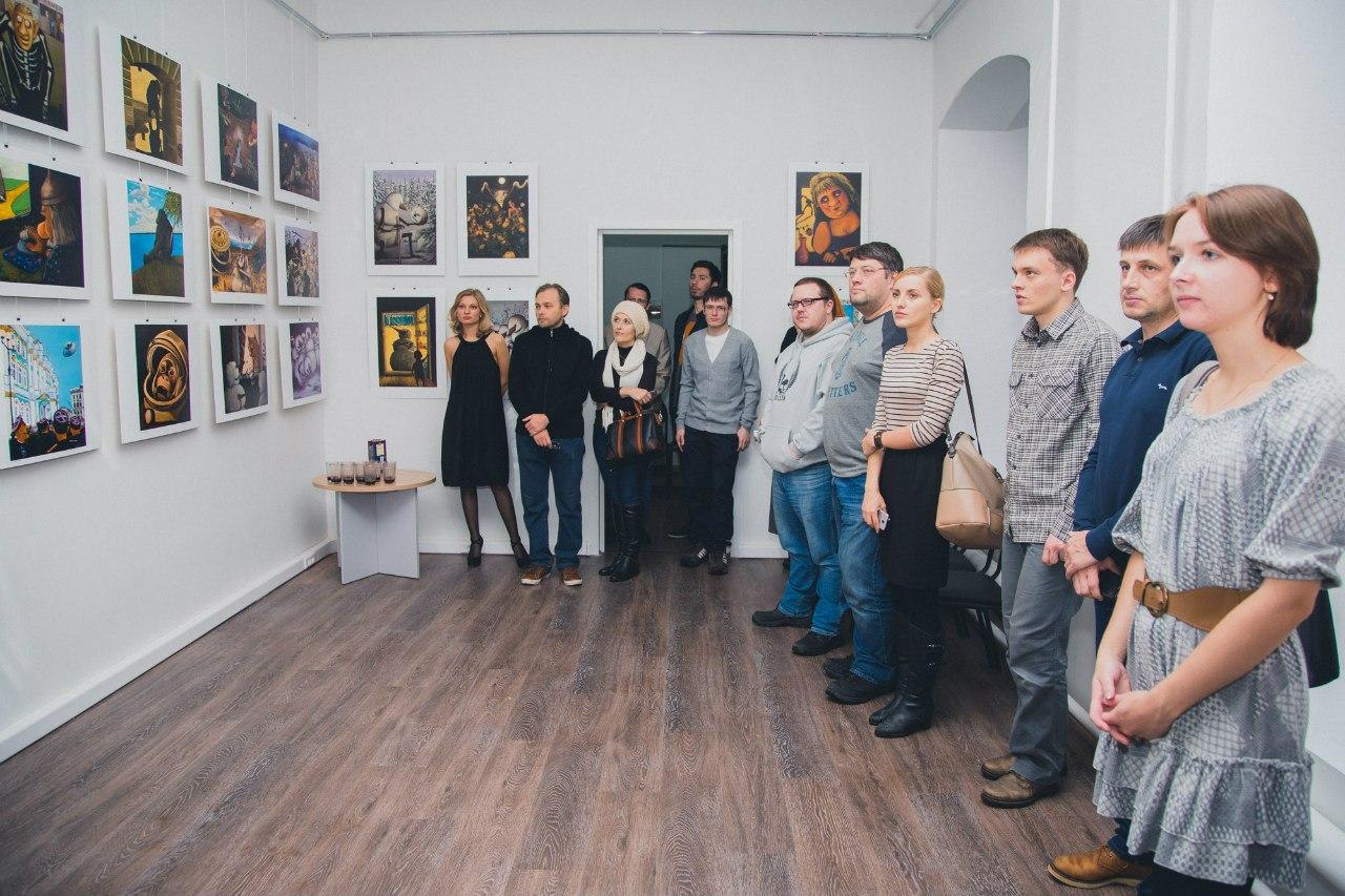 Открытие выставки Николая Копейкина «Война миров»