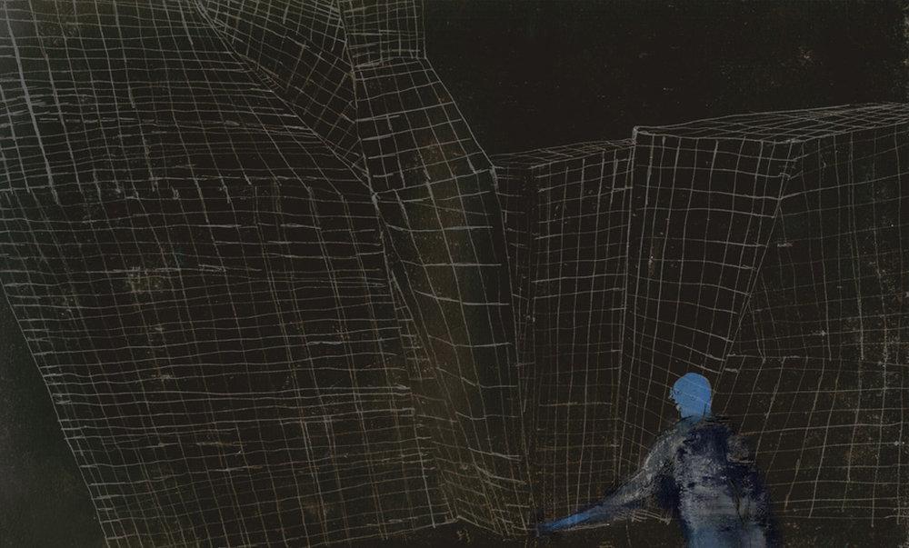 Хорхе Гонсалес. Иллюстрация к испанскому изданию «Записок из подполья». 2013