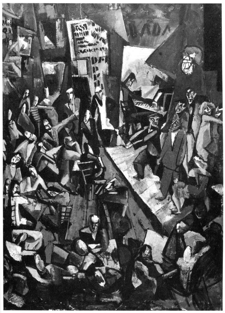 Марсель Янко, «Кабаре Вольтер», 1916