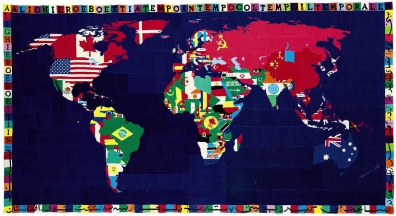 Алигьеро Боэтти, Mappa, 1989