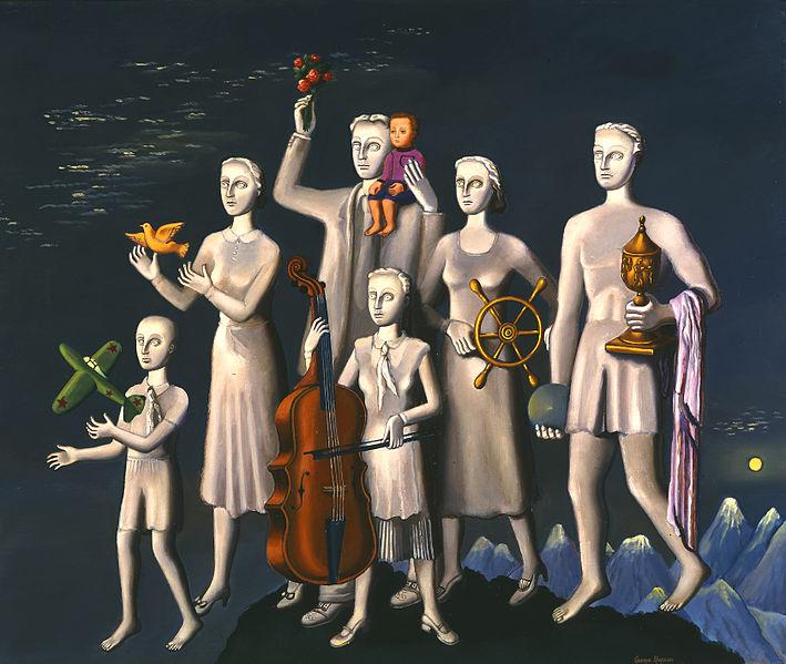 Гриша Брускин. «Памятники», 1983