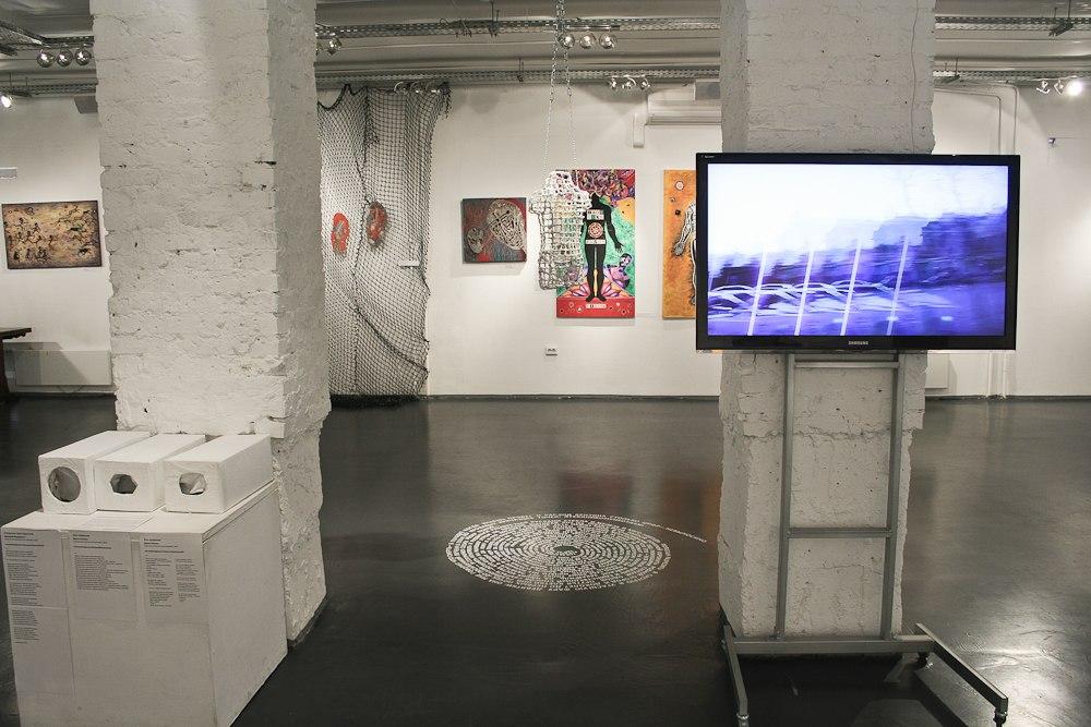 Вид экспозиции «EX: Метроном», СЦСИ, 2012
