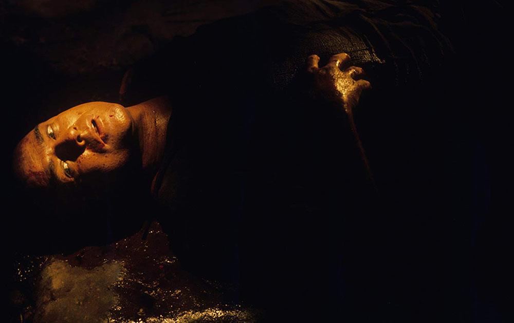 Марлон Брандо в фильме Фрэнсиса Форда Копполы«Апокалипсис сегодня» (1979)