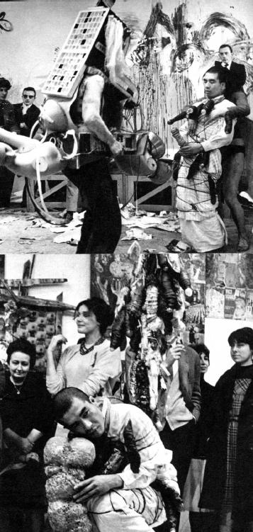 Перформанс «Философия Импотенции». Студии Болонь, Париж, 1962 год. Courtesy: Kudo Hiroko.