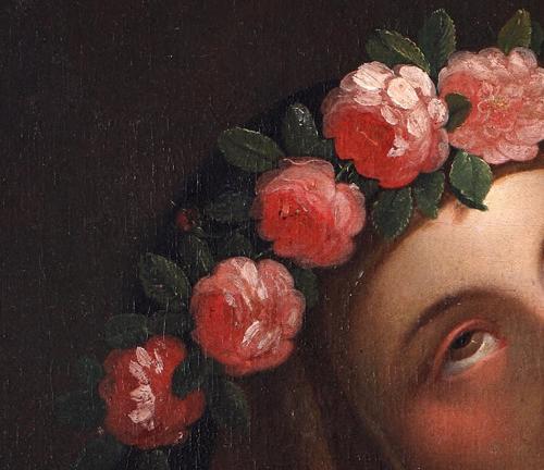Saint Rose of Lima by José del Pozo, c. 1820