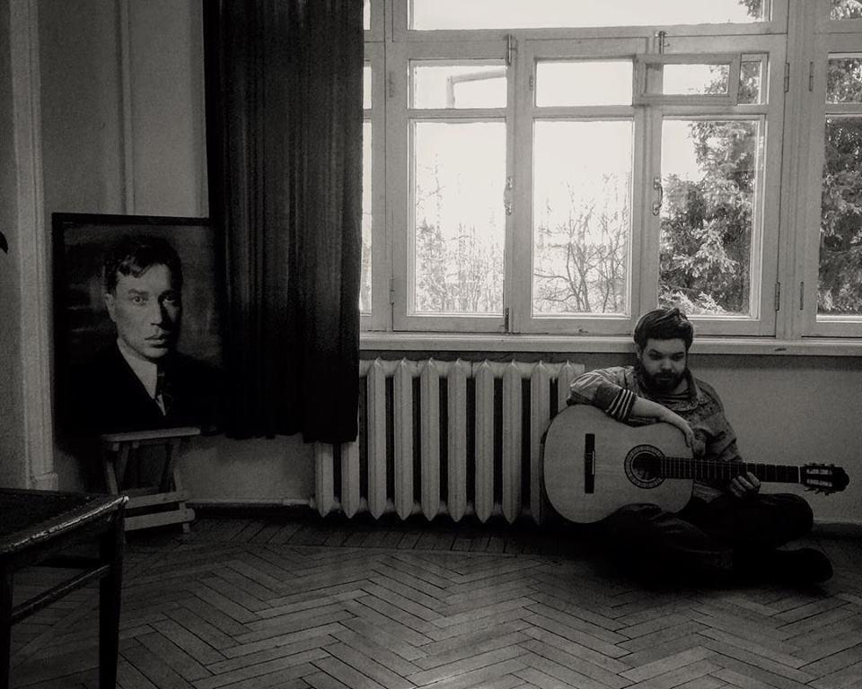 На снимке - Василий Бородин