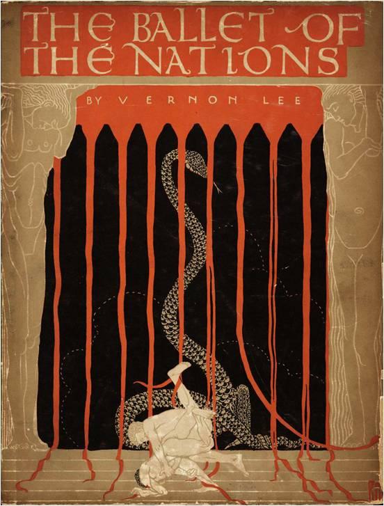 """Максвилл Армфильд Обложка к """"Балету наций"""" (1915)"""