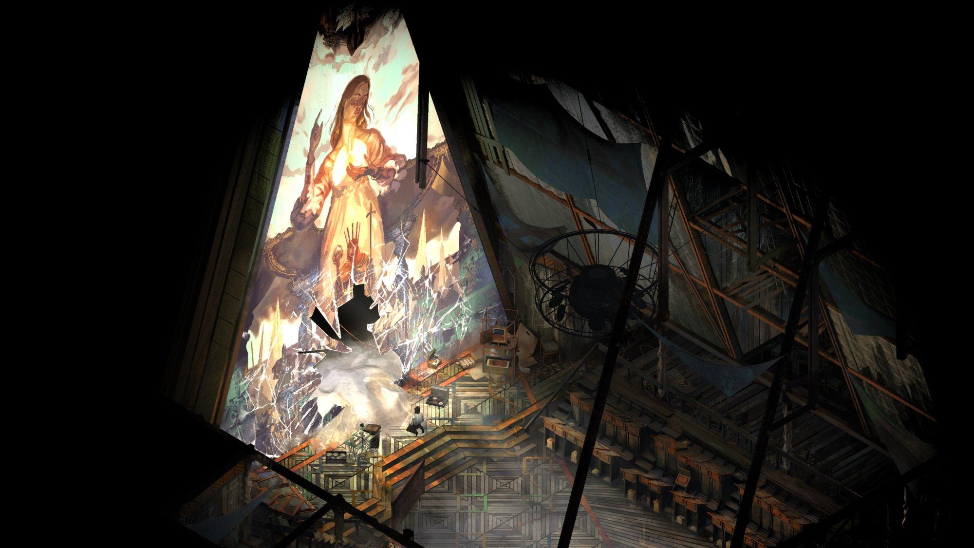 Алтарь цервки, которую можно найти в одной из локаций игры