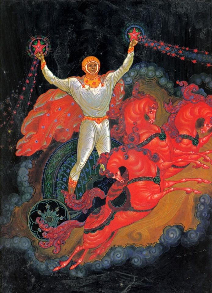 "1982, иллюстрации к книге ""Сын России"" -https://www.loyalroyal.me/kniga-syn-rossii-paleh/"