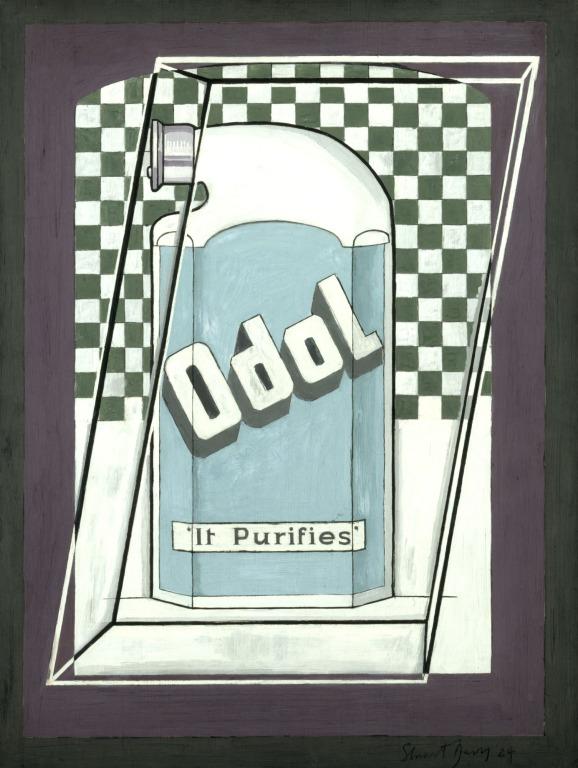 Стюарт Дэвис «Одол» (1924)