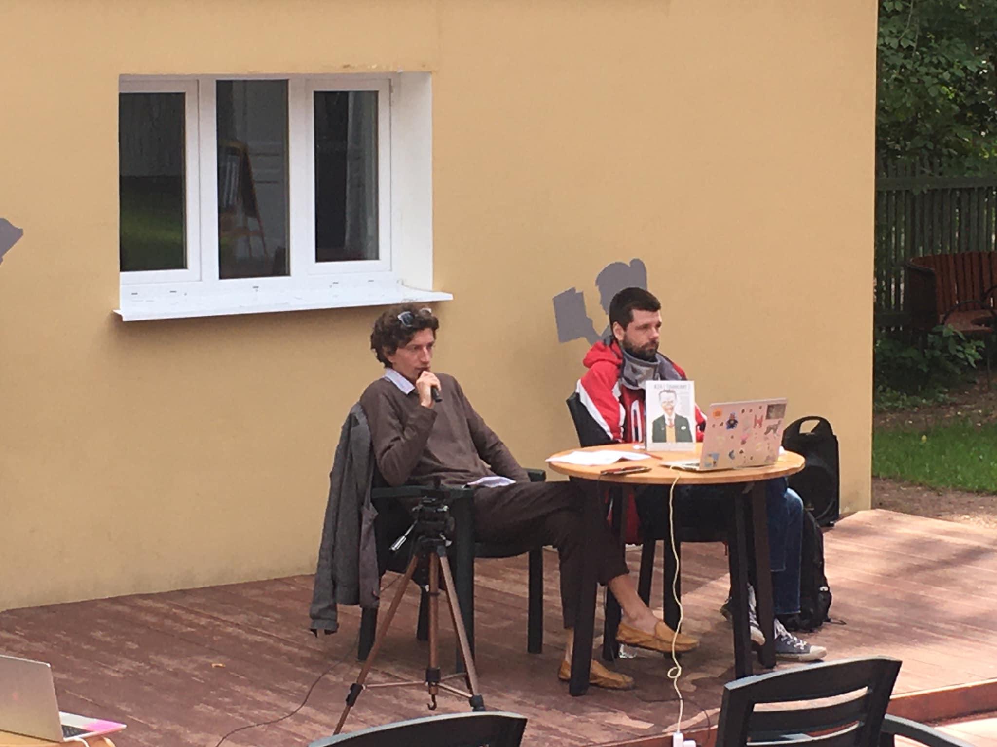 Занятие в диалоге с Алексеем Конаковым в Комарово