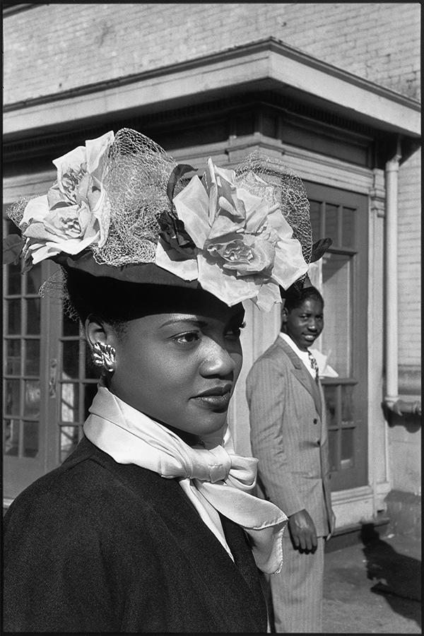 Henri Cartier-Bresson, Easter Sunday, Harlem, New York, 1947
