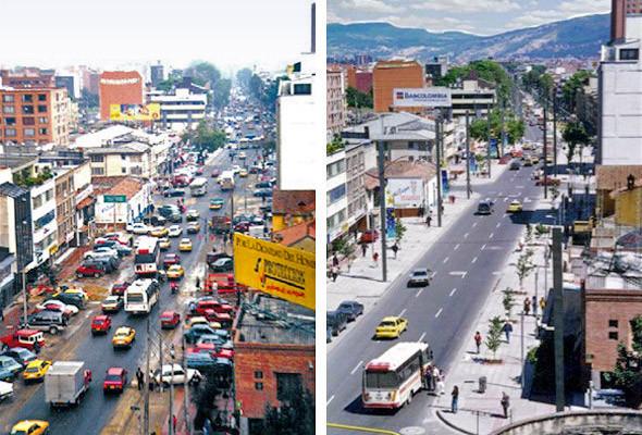 """Богота """"до"""" и """"после"""""""