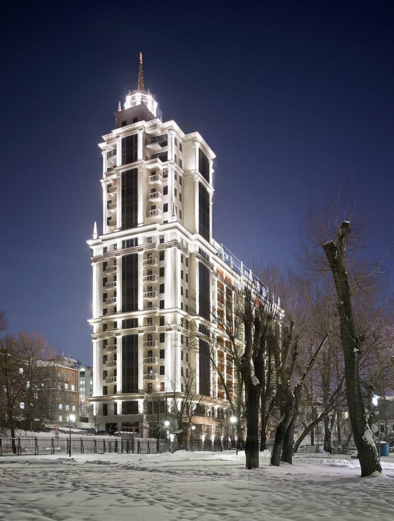 ЖК «Имперский дом» на Якиманке, Москва © frankherfort.de