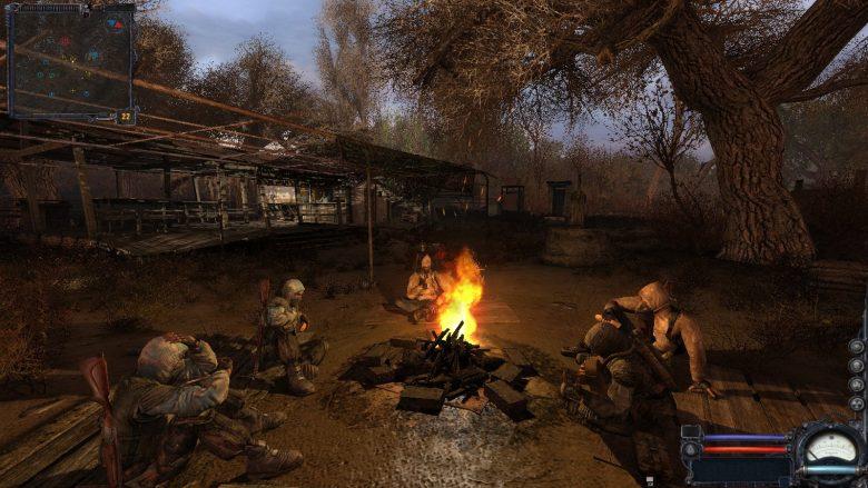 Скриншот игрового процесса одной из частей игровой франшизы S.T.A.L.K.E.R.