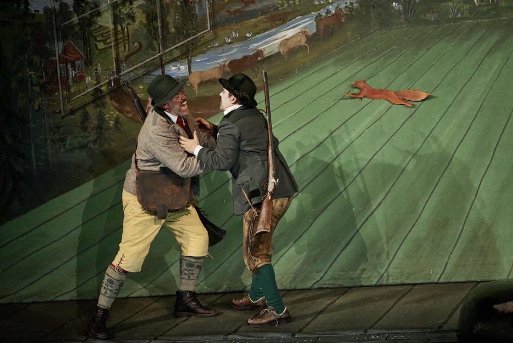 «Вольный стрелок», Штутгартская государственная опера. Photo (c) Martin Sigmund