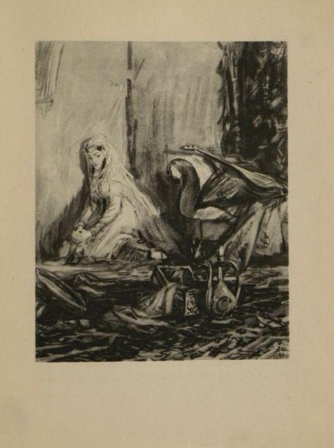 Герой нашего времени. Иллюстрация Дементия Шмаринова.