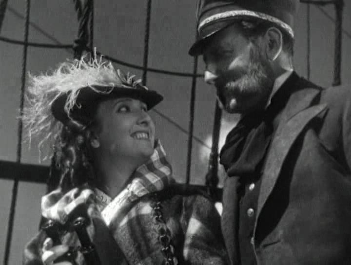 """Мария Стрелкова. Кадр из фильма """"Дети капитана Гранта"""" (1936 г.)"""