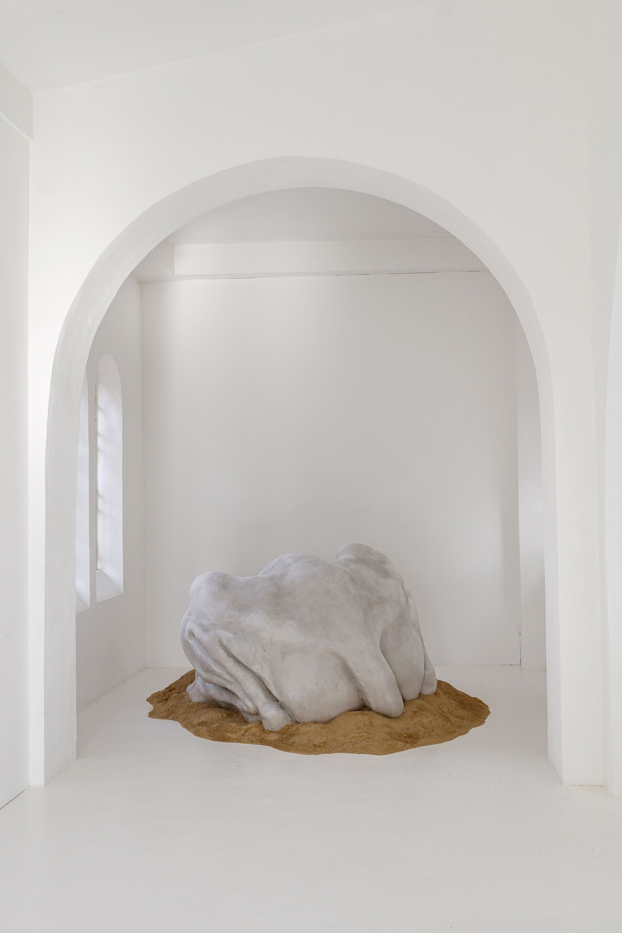 Зузанна Чебатул, Their New Power (Back), 2020. Выставка 'The Singing Dunes' в CAC-La synagogue de Delme, Дельм