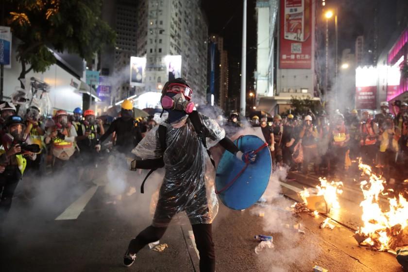 Протесты в Гонконге, 2019