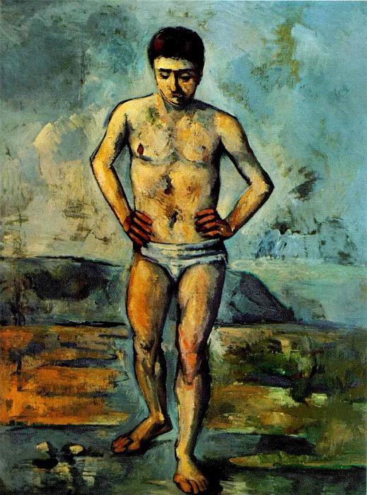 Поль Сезанн. 1885 - 1887. Купальщик.