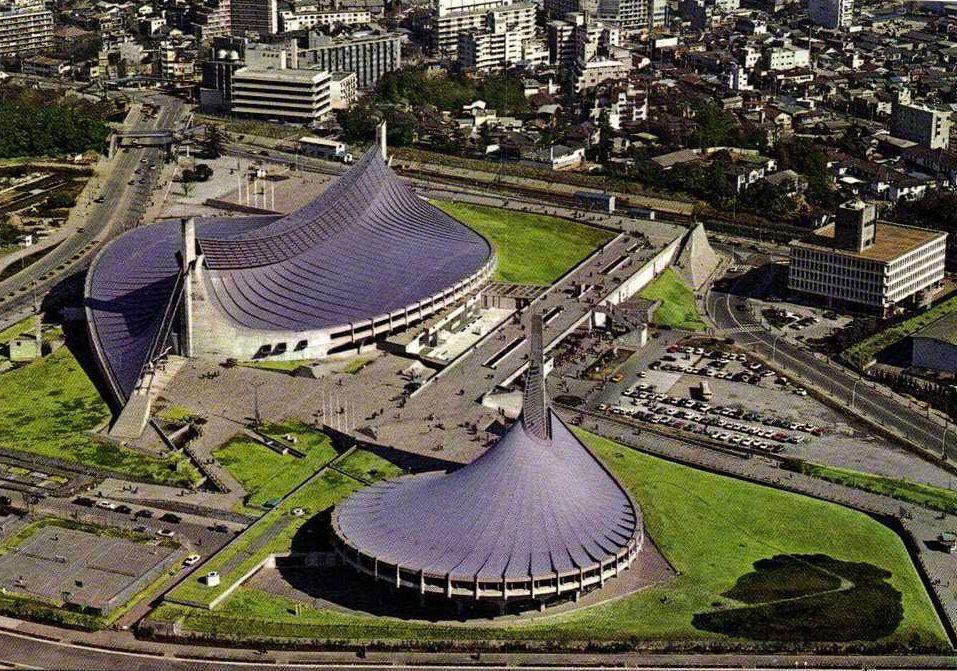 Национальный стадион Ёёги построен в 1961-1964 гг.