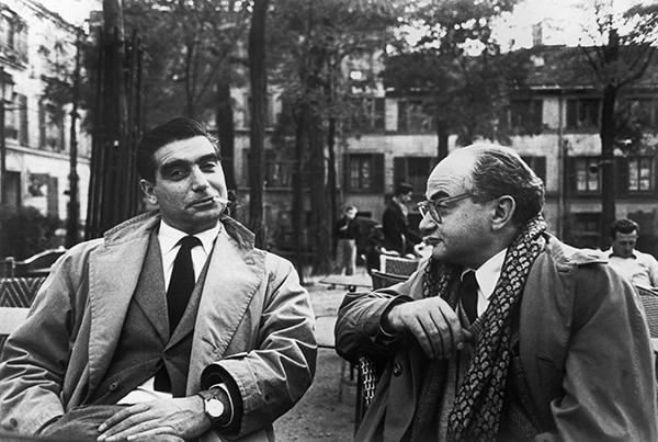 Henri Cartier-Bresson, Robert Capa and David Seymour, Place du Tertre, Paris, 1952
